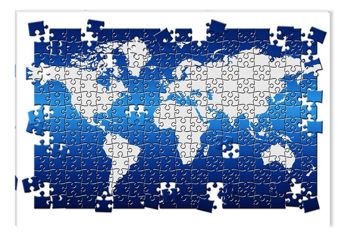 World map puzzle startonight usa world map puzzle gumiabroncs Gallery